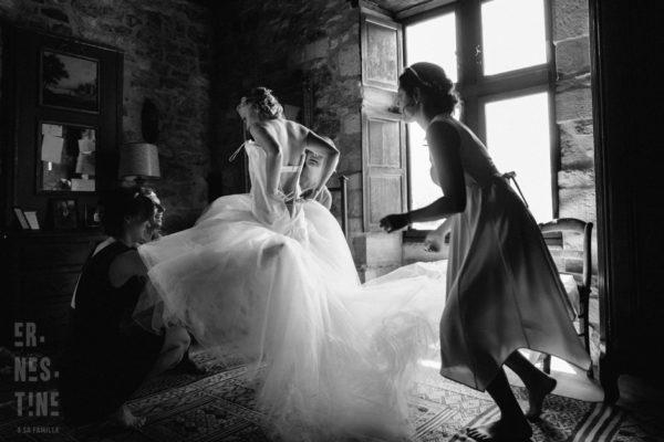 mariage dans le perigord