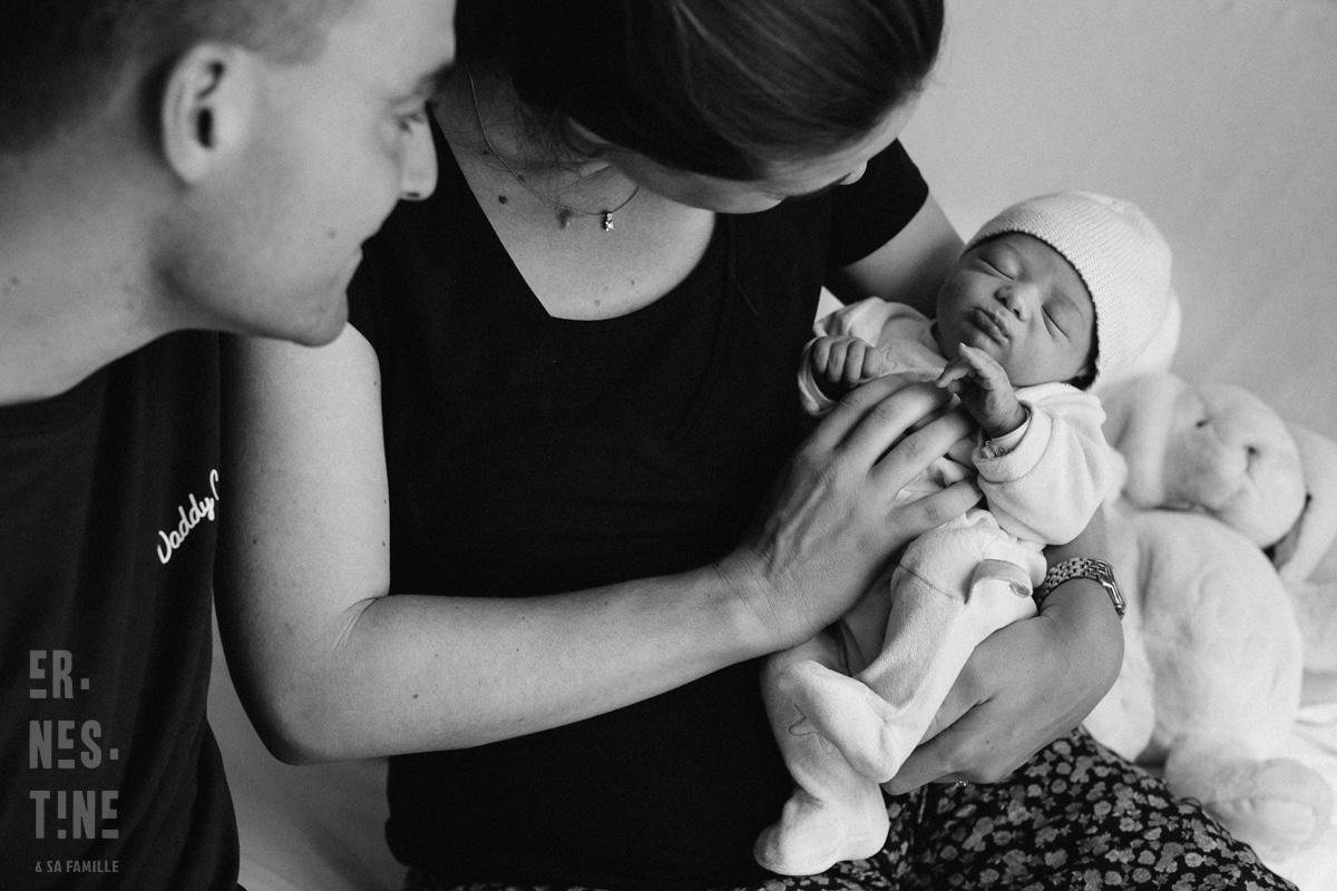 reportage à la maternité Paris