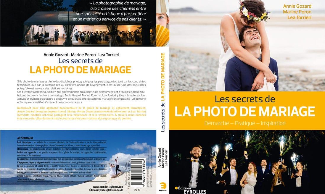 Les Secrets De La Photo De Mariage livre de Marine Poron Lea Torrieri et Annie Gozard aux Editions Eyrolles