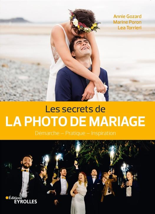 Marine Poron auteur du livre les secrets de la photo de mariage