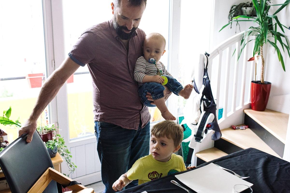 Reportage de famille à Montreuil en Seine saint Denis