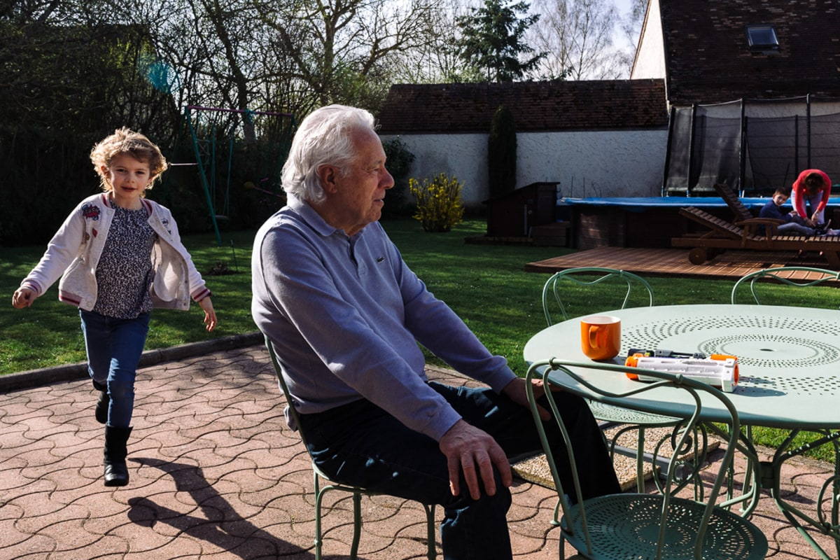 Reportage de famille à Rambouillet dans les Yvelines