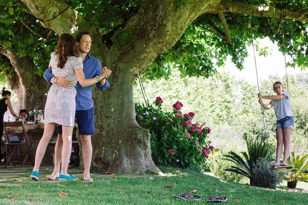 Mariage sur deux jours au Pays Basque - jeux au gite au milieu des fougères
