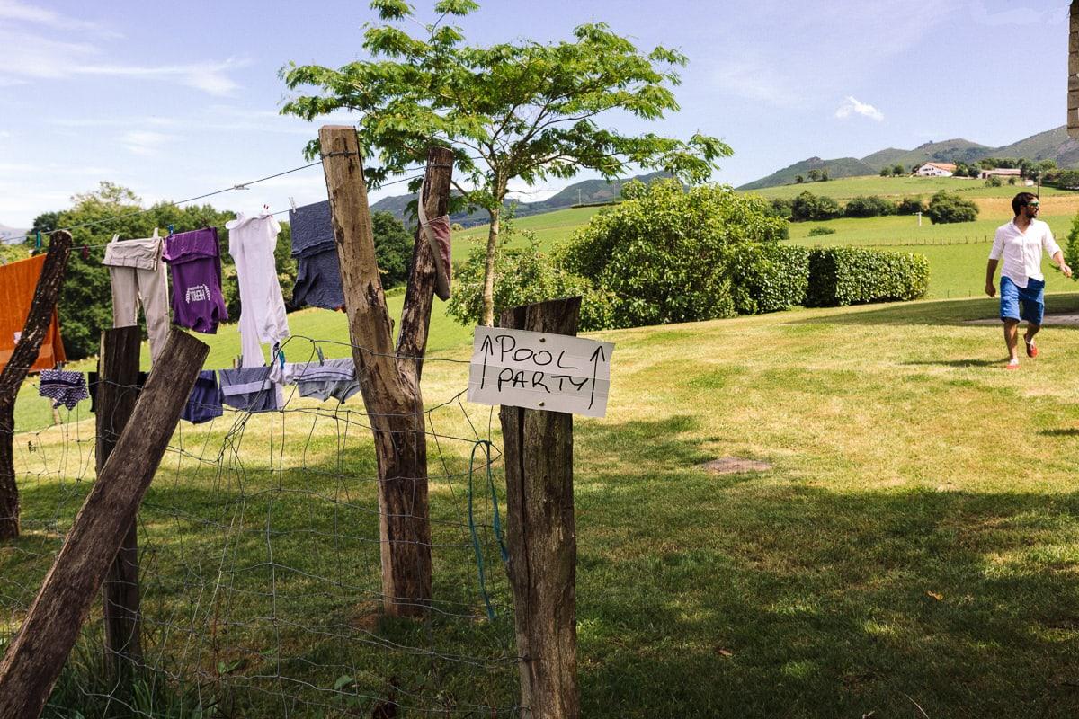 Mariage sur deux jours au Pays Basque - Pool party