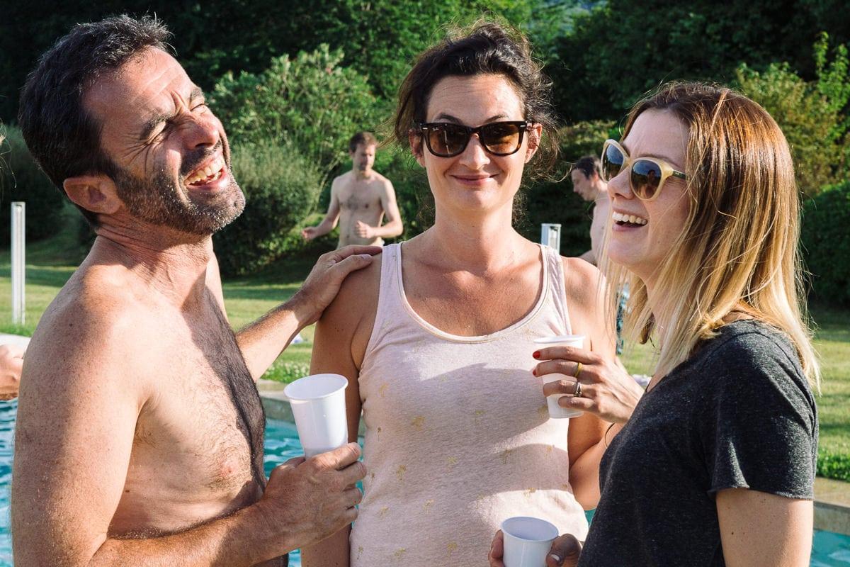 Mariage sur deux jours au Pays Basque - autour de la piscine