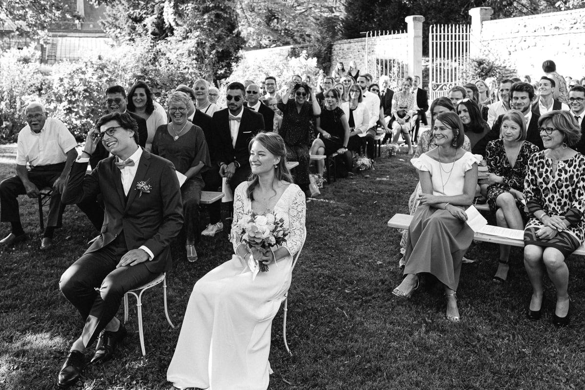 Reportage photo de Cérémonie laïque reportage de mariage au Domaine de Verderonne dans l'Oise