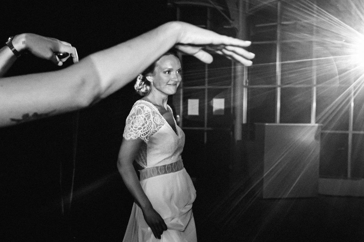 Danse de la mariée au château des Pères à Rennes